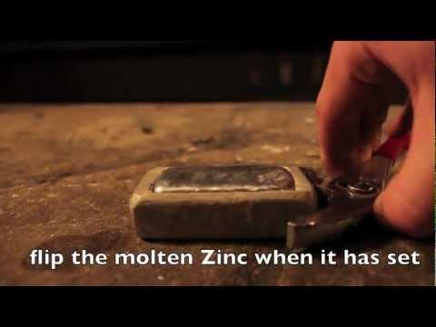 Making Zinc Ingots