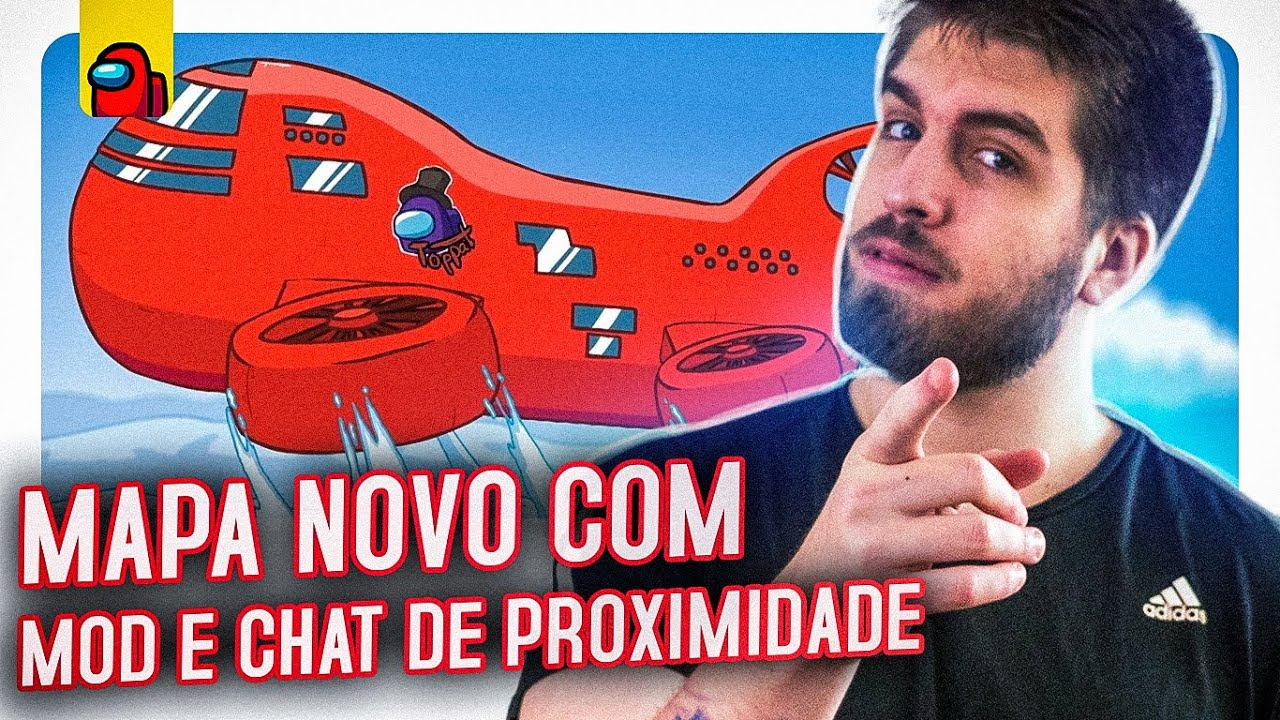 Download AMONG US COM MOD E CHAT DE PROXIMIDADE NO MAPA NOVO!   RAKIN