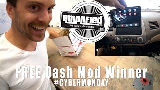 Cyber Monday Surprise, Free iPad dash mod winner!