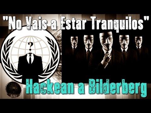 Anonymous hackea web de Club Bilderberg y dejan mensaje amenazándolos.
