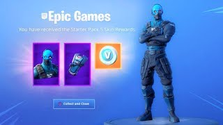 *NEW* STARTER PACK is HERE!! (with leaked emotes showcase) Fortnite Battle Royale