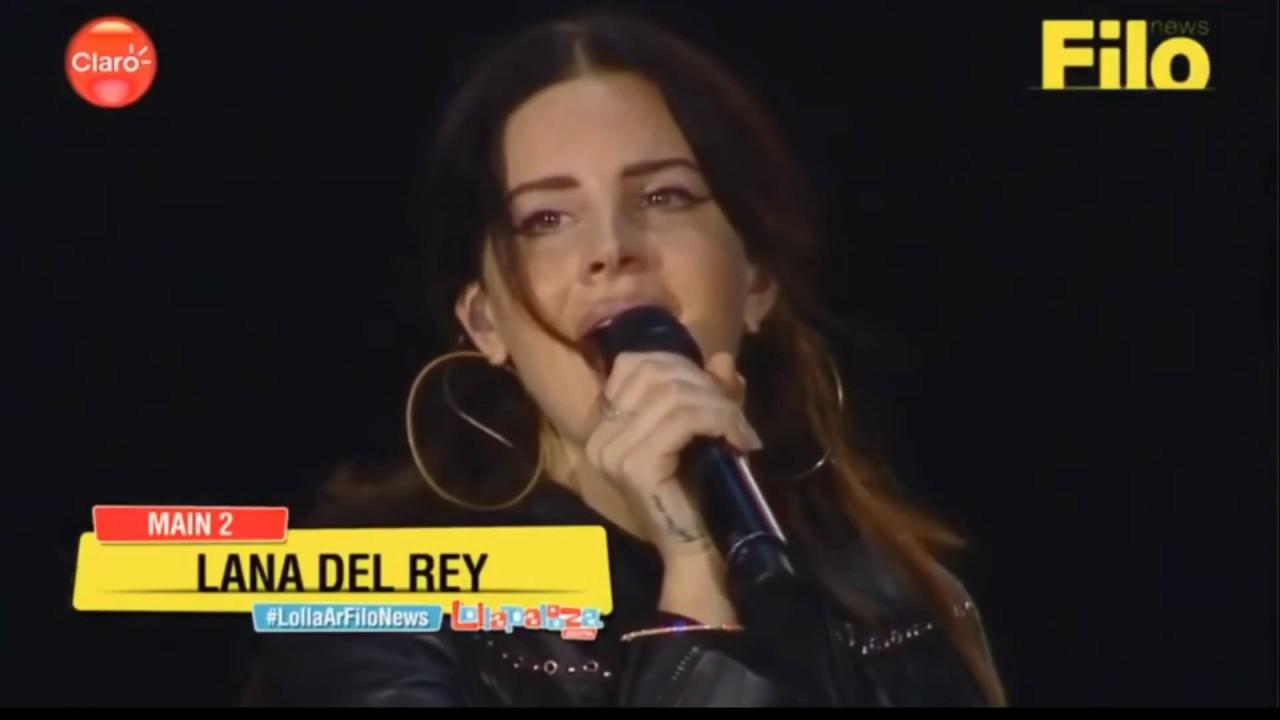 Lollapalooza El Regreso De Lana Del Rey De La Mano Del Mejor Disco De Su Carrera La Nacion