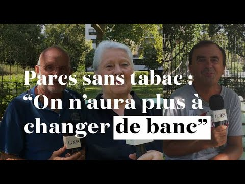 "Parcs sans tabac à Paris : ""On n'aura plus à changer de banc"""