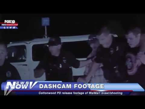 FNN: Dashcam video of WalMart brawl and shooting
