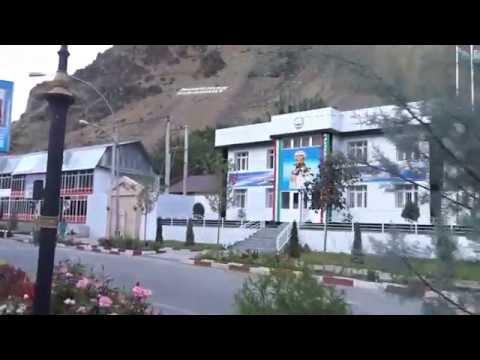 President Emomali Rahmon propaganda in Kalai-Khumb