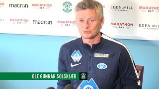 HFCvMFK | OLE GUNNAR SOLSKJÆR PRESS CONFERENCE