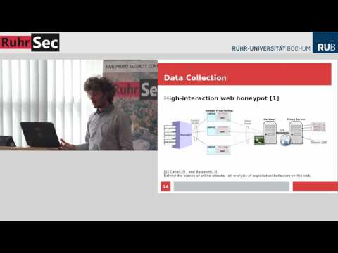 """RuhrSec 2016: """"Automatic Extraction of Indicators of Compromise for Web App."""", Marco Balduzzi"""