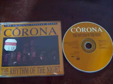 Corona   Rhythm of the Night    No2 2nd wk September 1994 CD Single (trusted) Raido