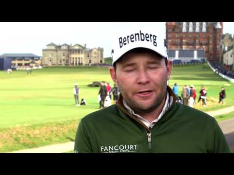 Interview with Branden Grace on the crowd at St. Andrews