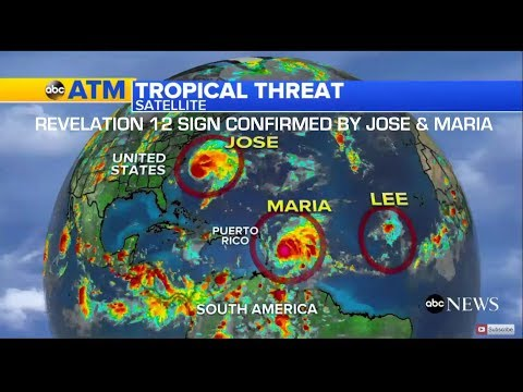 Mocking the REVELATION 12 SIGN | Hurricanes MARIA & Jose CONFIRM Sep 23, 2017