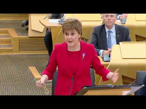 First Minister's Questions - 26 October 2017
