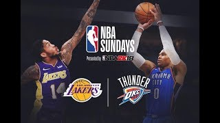 Lakers VS Thunder Pregame with DTLF Live on SUPERBOWL SUNDAY!!!
