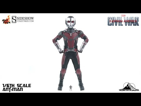 Hot Toys Captain America Civil War ANT-MAN Video Review