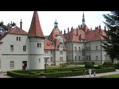 Санаторий Карпаты. Замок-дворец Шенборнов на Закарпатье