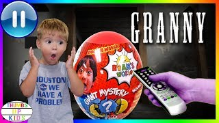 Trapped in Granny's House  Pause Challenge   Ryan's World Egg   Thumbs Up Family