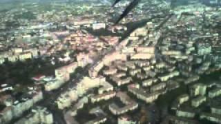 Tarom ATR42 - Landing in Oradea Airport