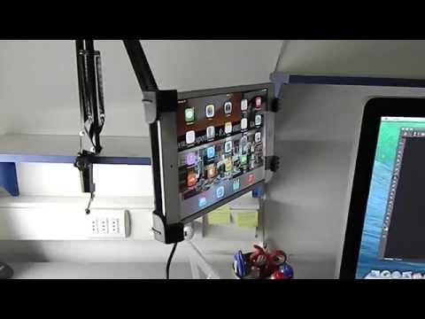 Soporte casero para tablets doovi - Soporte tablet cama ...