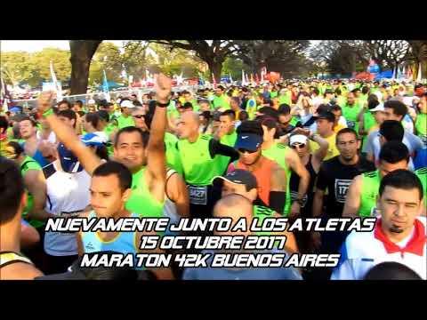 A PURO DEPORTE en  cobertura 42K Maratón Ciudad de Buenos Aires  15 octubre 2017