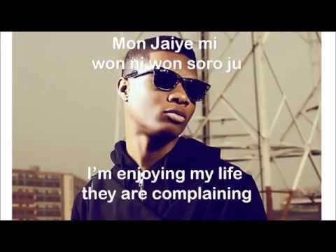 WIZKID - OJUELEGBA Lyrics/English Subtitles