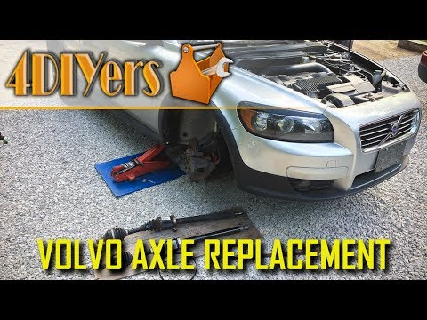 DIY: Volvo C30 S40 V50 C70 Right Axle Replacement