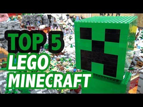 Top 5 Epic LEGO Minecraft Creations!
