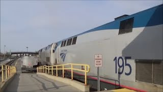 [HD] Riding Amtrak Lake Shore Limited train 449 from Boston to Albany