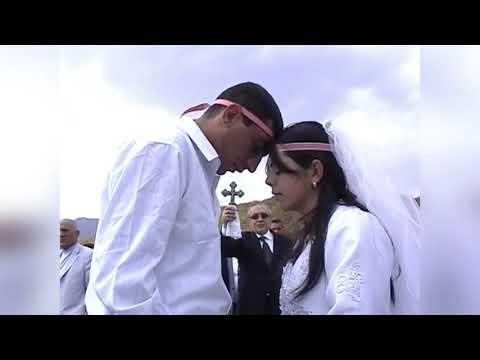Большая армянская свадьба в Шуши на 700 пар. Как это было....