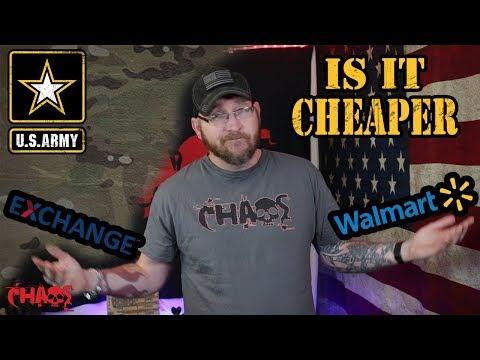Does The Army Exchange Have The Best Prices