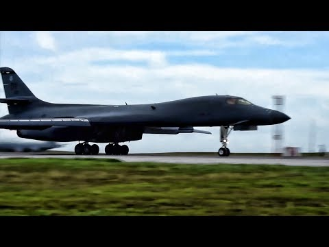 U.S. B-1 Bombers Takeoff From Guam To Counter North Korea