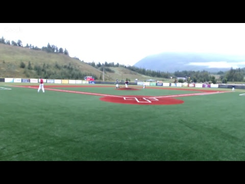 Chugiak Chinooks vs. Anchorage Glacier Pilots (Game 37; July 25, 2017)