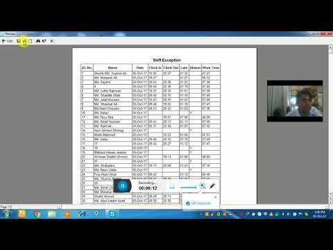 Zkteco Time Attendance Software Setup and Configuration