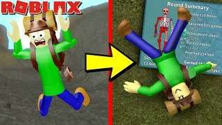CAMPING BALDI BROKE HIS BONES!! | Roblox: Broken Bones