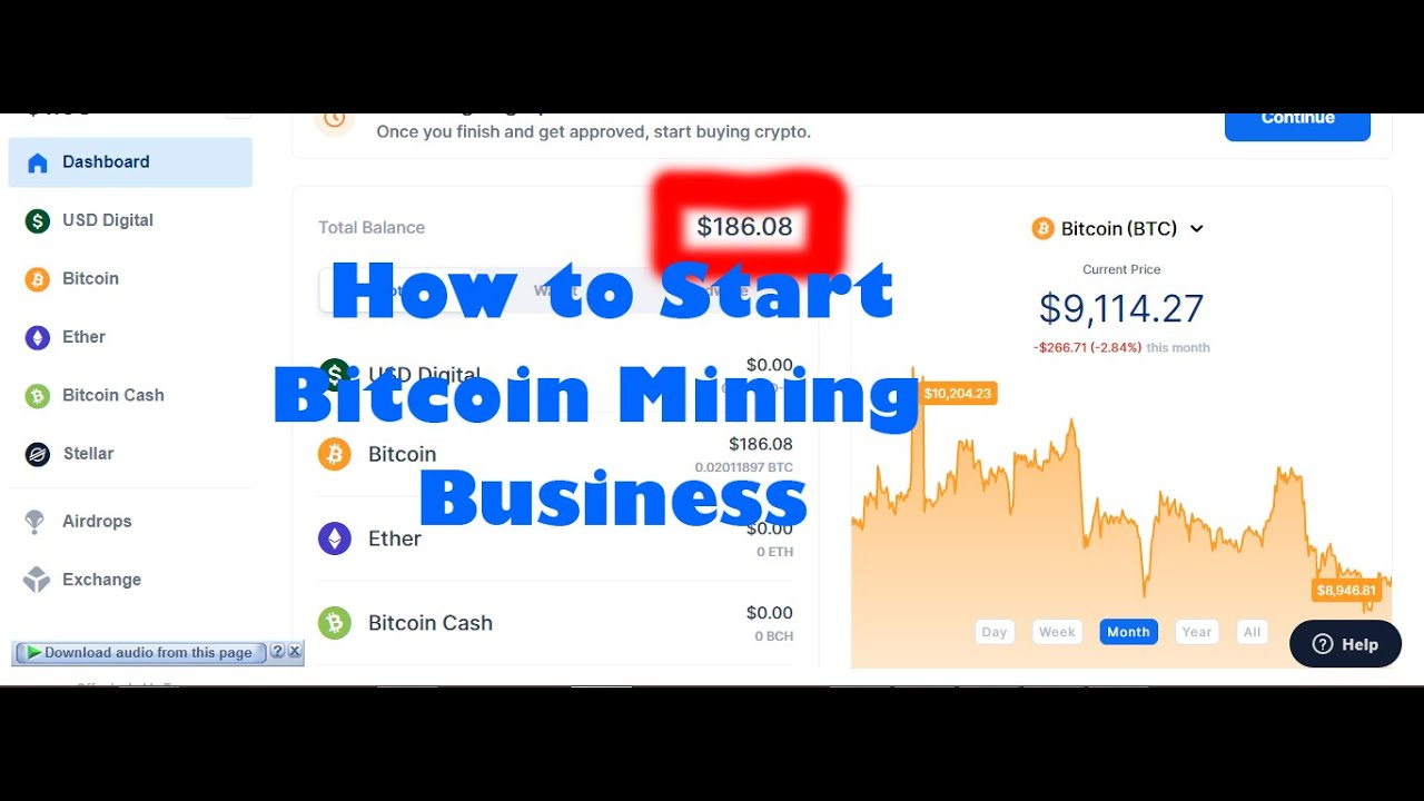 How to Start a Bitcoin Mining Business