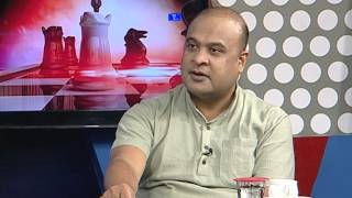 Himanta biswa sarmah interview with Ajit kumar bhuyan PRAG NEWS
