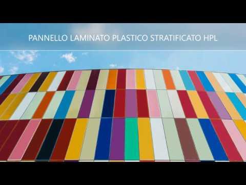 Pannello in laminato plasticosu HPL