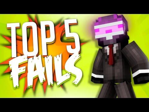 TOP 5 FAILS EN MINECRAFT | SEMANA 4