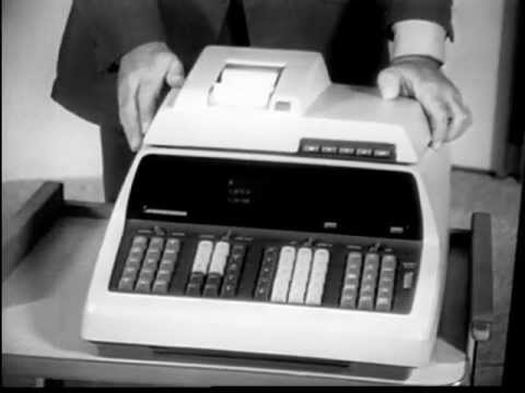 Hewlett-Packard 9100 - Computer Calculator For Math And Science (1968)