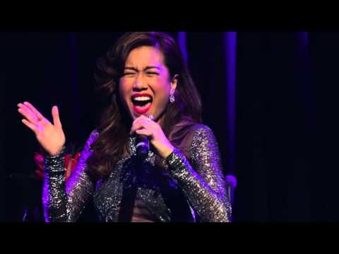 Rachelle Ann Go sings 'And There it Is' at the Hippodrome on September 14th, 2015