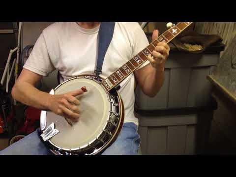 Banjo for sale on Ebay Sample song Earl's Breakdown