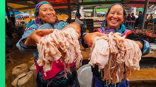 Asia's MOST ISOLATED Market!! Rare Mountain Hmong Food!! | TRIBAL VIETNAM EP6