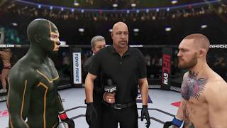 Kick Ass vs. Conor McGreggor (EA sports UFC 3) - CPU vs. CPU