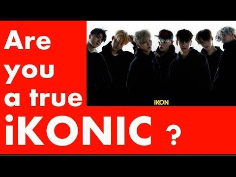 ARE YOU AN iKONIC ? | iKON Quiz
