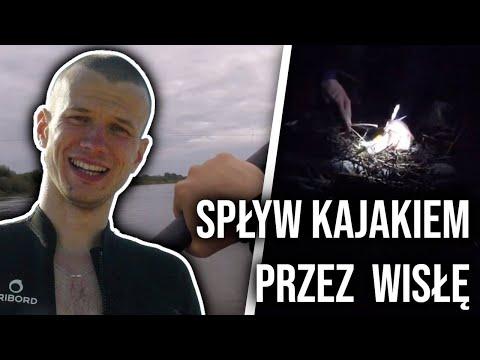 Spływ kajakiem Kraków-Warszawa. Dzień 1..miałbyć Gdańsk. Wawel
