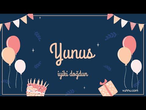 İyi ki Doğdun Yunus (Kişiye Özel Pop Doğum Günü Şarkısı) Vuhhu