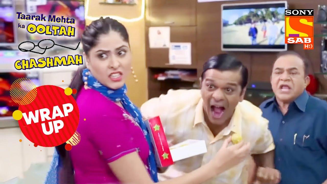 Bagha को Bawri के हात से लड्डू खाते देख लिया Jethalal ने | Taarak Mehta Ka Ooltah Chashmah | Wrap Up