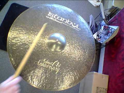 """*SOLD* Istanbul Mehmet 61st Anniversary Vintage Ride Cymbal - 22"""" - 2368 grams"""