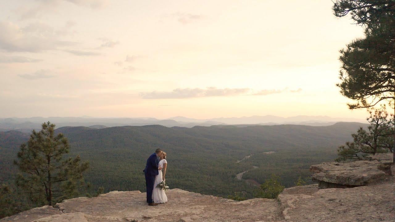 Emotional Elopement at the Mogollon Rim | Arizona Elopement & Wedding Videographers | Concetta Films