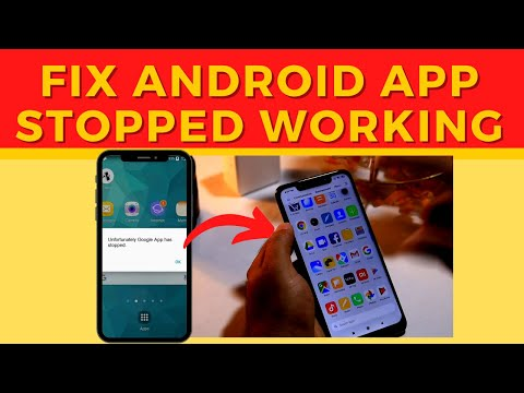 How To Fix Apps Stopped Working And  Crashing Error On Android Device