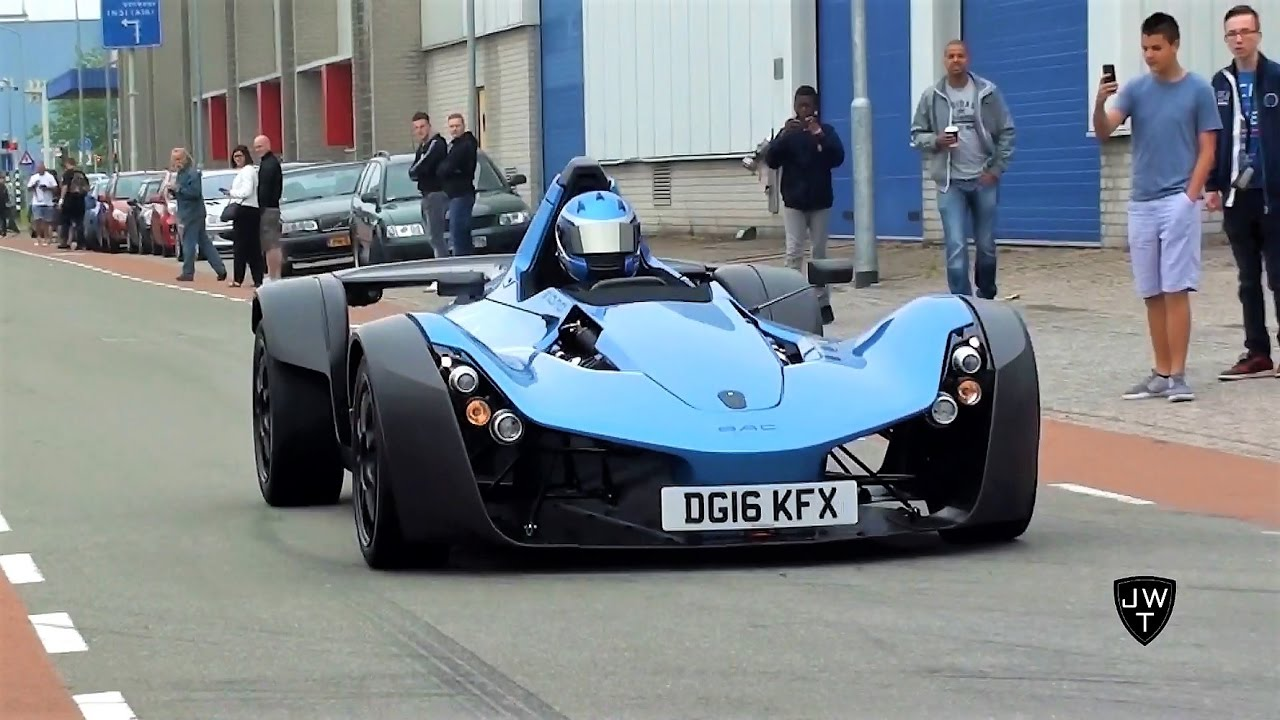 INSANE BAC Mono at Cars & Coffee! Start-Up, FAST Acceleration & More ...