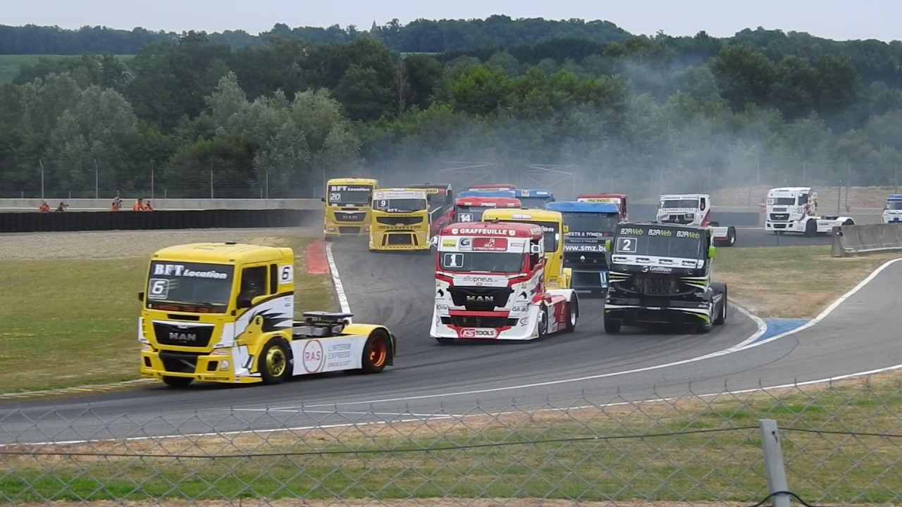 d part course 1 grand prix camion nogaro 2017 youtube